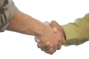 Successful-Negotiation-Handshake